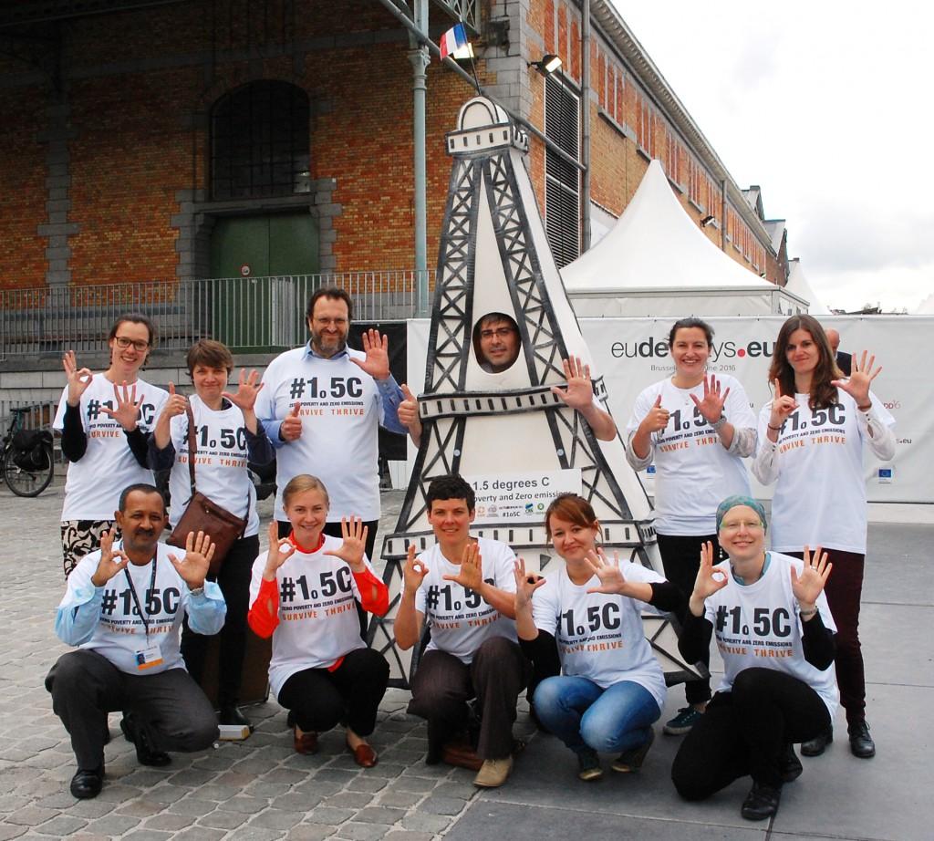 EDD Eiffel Tower 1.5C Action 2016