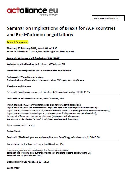 Brexit seminar 22 Feb picture