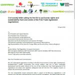 CSO Mercosur Letter picture