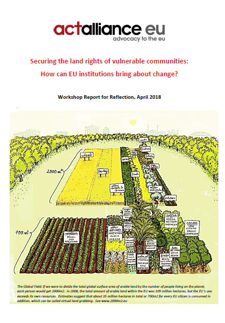 Securing land rights - Role of EU institutions picture