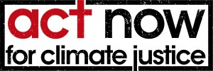 ACT NOW for Climate Justice logo