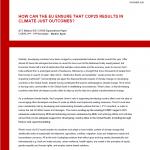 ACT EU COP25 paper